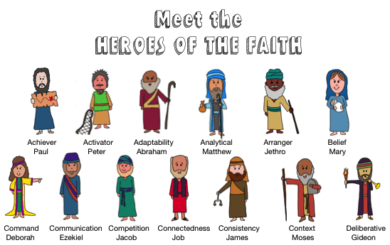 Heroes of the Faith:<br>Sunday School Curriculum<br>Digital Download