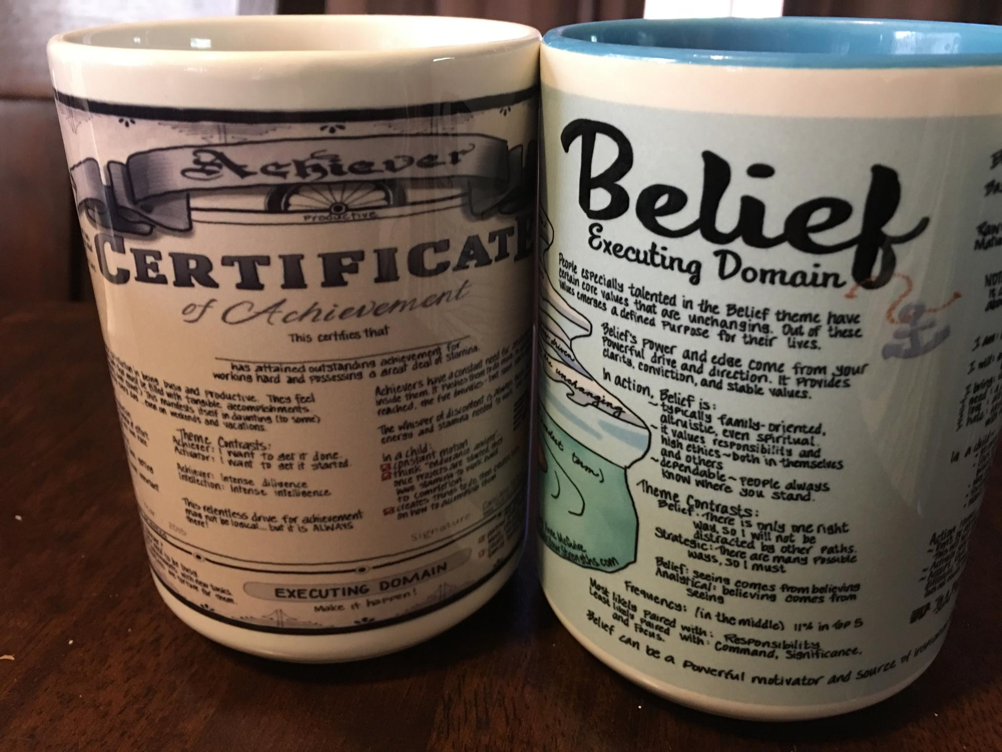 Custom Strengths Mugs
