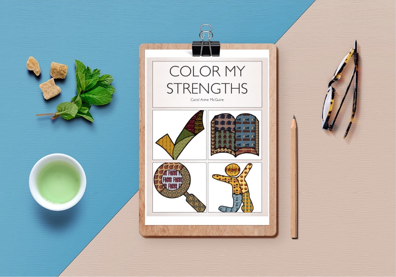RYS Strengths Coloring Book