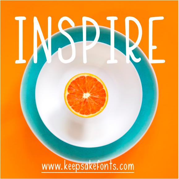 Inspire (a custom font)